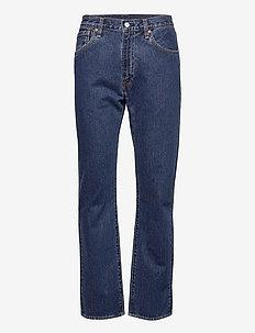 551Z AUTHENTIC STRAIGHT RUBBER - regular jeans - med indigo - worn in