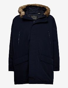 WOODSIDE LONG UTLTY PRKA NIGHT - anoraks - blues