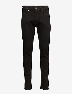 512 SLIM TAPER FIT NIGHTSHINE - slim jeans - blacks