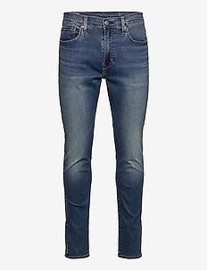 512 SLIM TAPER COASTAL TRAIL C - slim jeans - dark indigo - worn in