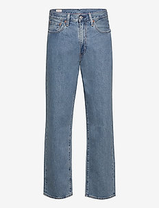 STAY LOOSE DENIM HANG LOOSEN U - relaxed jeans - light indigo - worn in