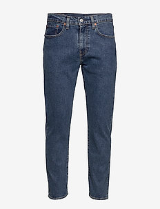 502 TAPER STONEWASH STRETCH T2 - regular jeans - med indigo - flat finish