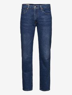 502 TAPER NIGHT WALK WARM - regular jeans - dark indigo - worn in