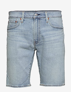 502 TAPER SHORTS 10 TOAST SHOR - short en jean - light indigo - worn in