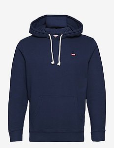 NEW ORIGINAL HOODIE DRESS BLUE - basic sweatshirts - blues