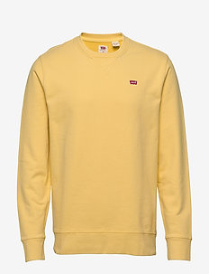 NEW ORIGINAL CREW DUSKY CITRON - basic sweatshirts - yellows/oranges
