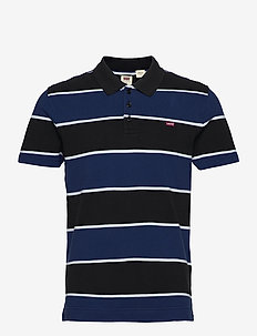 O.G BATWING POLO CLARKIA NAVY - short-sleeved polos - multi-color