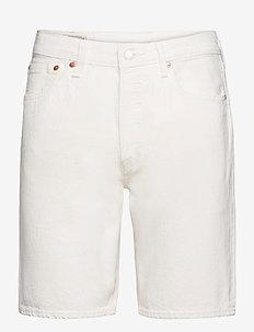 501 HEMMED SHORT MARSHMALLOW S - jeansshorts - neutrals