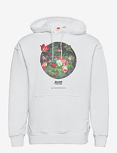 T2 RELAXED GRAPHIC PO SSNL MV - hoodies - neutrals