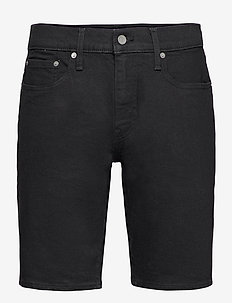 405 STANDARD SHORT BLACK RINSE - jeansowe szorty - blacks