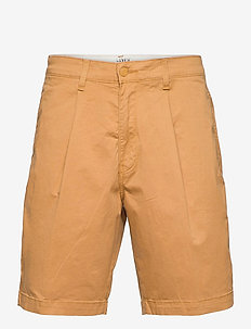 XX STAY LOOSE PLT SHORT MEDAL - spodenki chinos - neutrals
