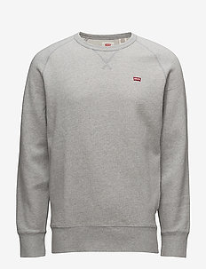 ORIGINAL HM ICON CREW MEDIUM G - basic sweatshirts - greys