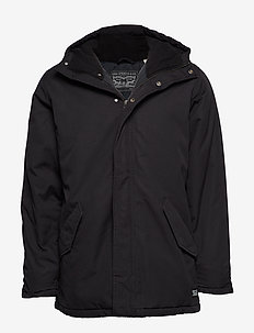 THERMORE PADDED PARKA CAVIAR - BLACKS