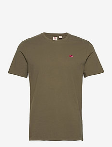 SS ORIGINAL HM TEE OLIVE NIGHT - basic t-shirts - greens