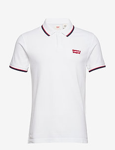 SS MODERN HM POLO HM PATCH WHI - NEUTRALS