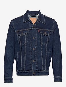 THE TRUCKER JACKET MOON LIT TR - DARK INDIGO - FLAT FINISH