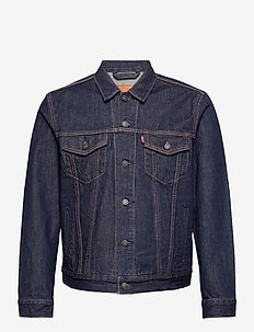 THE TRUCKER JACKET ROCKRIDGE T - jeansjackor - med indigo - worn in