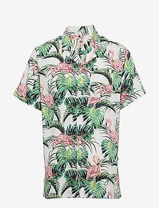 CUBANO SHIRT FLAMINGO LEAF PRI - koszule w kratkę - multi-color