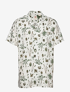 CUBANO SHIRT NEPHRITE OLIVE NI - koszule w kratkę - greens