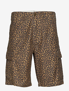 HIBALL CARGO SHORTS PATCHY CHE - casual shorts - multi-color