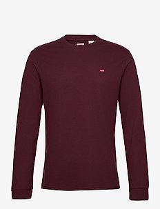 LS ORIGINAL HM TEE SASSAFRAS - basic t-shirts - reds