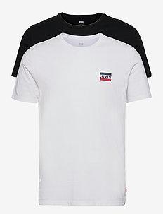 2PK CREWNECK GRAPHIC 2 PACK SW - basic t-shirts - multi-color