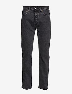 501 93 STRAIGHT RAISIN STONE - regular jeans - med indigo - worn in