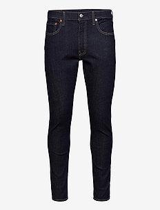 SKINNY TAPER CLEANER ADV - skinny jeans - dark indigo - flat finish