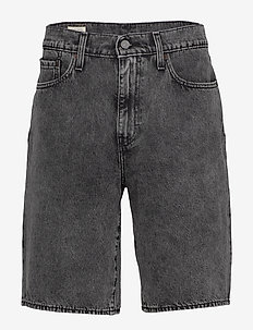 HALF PANTS MUFFIN SHORT - jeansowe szorty - blacks