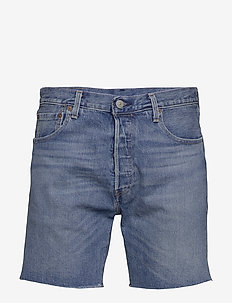 501 93 SHORTS HAM SHORT - jeansowe szorty - light indigo - worn in