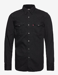 BARSTOW WESTERN STANDARD MARBL - rutiga skjortor - blacks