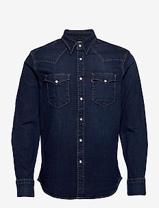 BARSTOW WESTERN STANDARD MODER - checkered shirts - blues