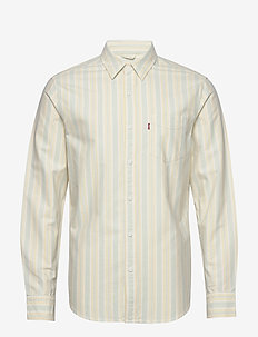 SUNSET 1 POCKET STANDARD HAUYN - casual skjortor - neutrals