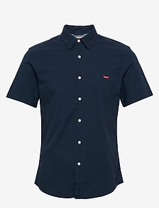 SS BATTERY HM SLIM DRESS BLUES - basic shirts - blues