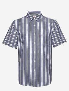 SS CLASSIC 1 PKT STANDRD RAJAO - kortärmade skjortor - blues
