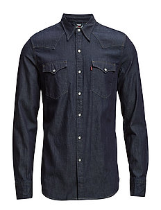 Barstow Western Standard Red (Dark Indigo Worn In) (639.20