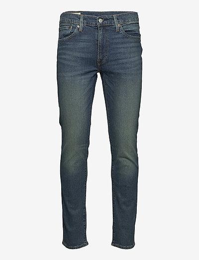 511 SLIM BAND WAGON ADV - slim jeans - dark indigo - worn in