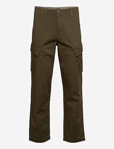XX TAPER CARGO II BUNKER OLIVE - pantalon cargo - greens