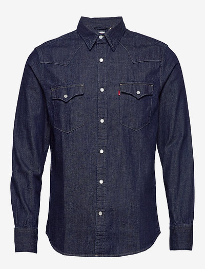 BARSTOW WESTERN STANDARD RED C - checkered shirts - blues