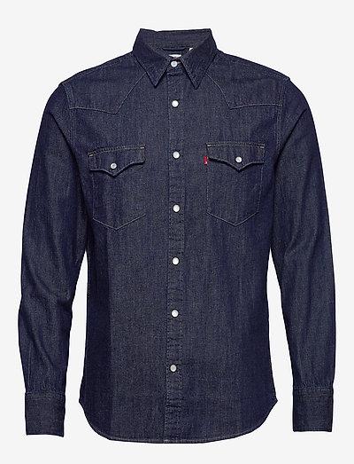 BARSTOW WESTERN STANDARD RED C - rutiga skjortor - blues