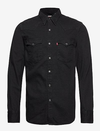 BARSTOW WESTERN STANDARD MARBL - koszule w kratkę - blacks
