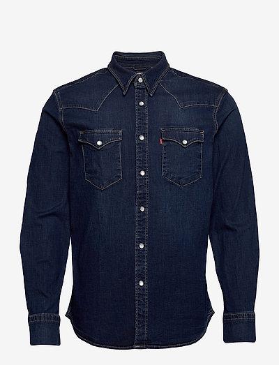 BARSTOW WESTERN STANDARD MODER - rutiga skjortor - blues