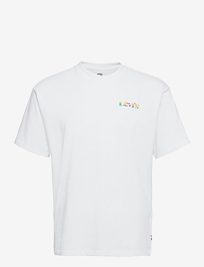 VINTAGE FIT GRAPHIC TEE PRIDE - basis-t-skjorter - neutrals