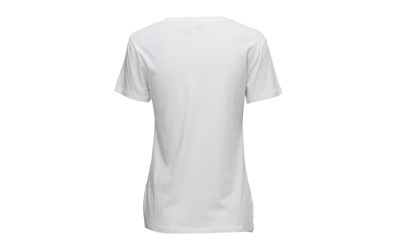 Levi´s Women Perfect Coton Log Tee Sportswear 100 Neutrals The UUrwqRAxf