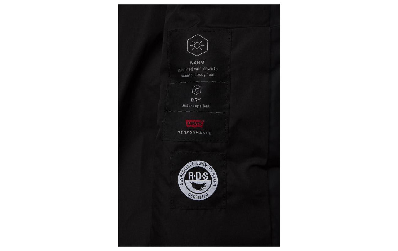 Puffer Kerri Women Polyester Blacks Caviar Levi´s 100 q6f4wnBnR