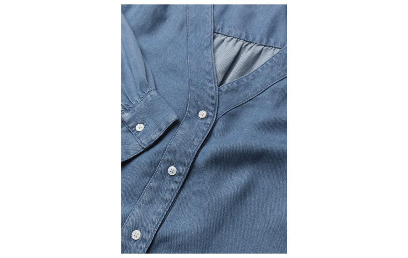 Malika Lyocell Mid 100 Light Women Shirt Levi´s Wash 5RwxOZqF1