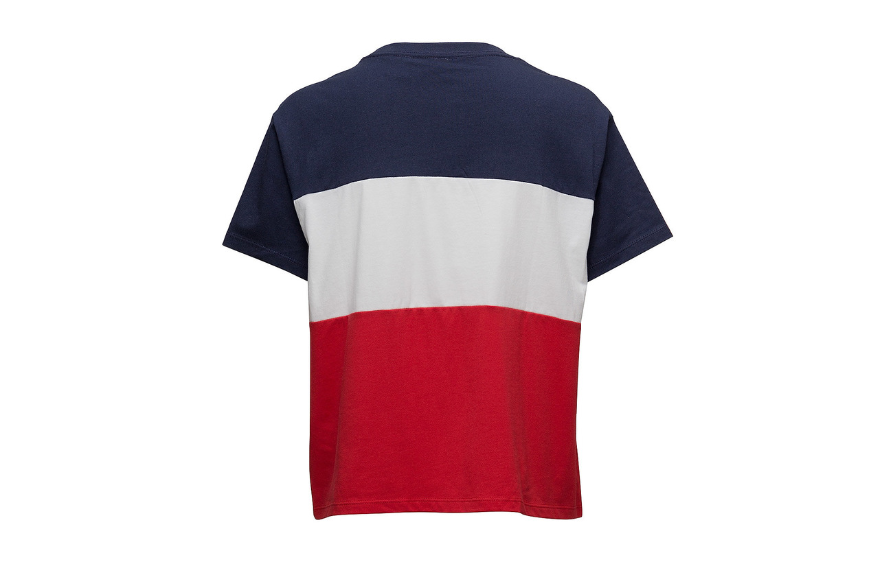 Co Coton Tee Colorblock 100 J Graphic Levi´s v Women Colorbloc WUYwnqO