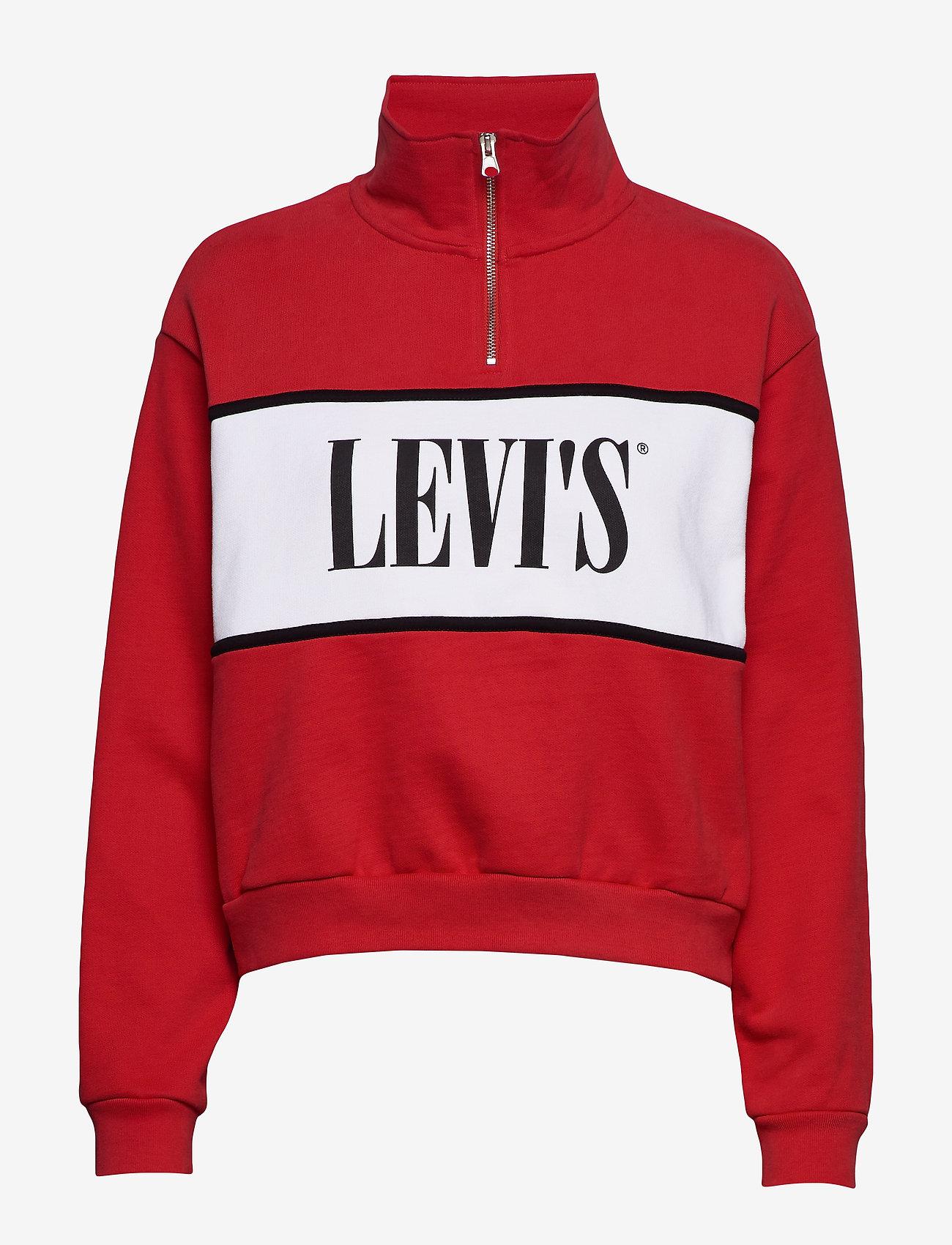 LEVI´S Women - CB LOGO SWEATSHIRT LOGO SWEATS - sweatshirts - reds - 0