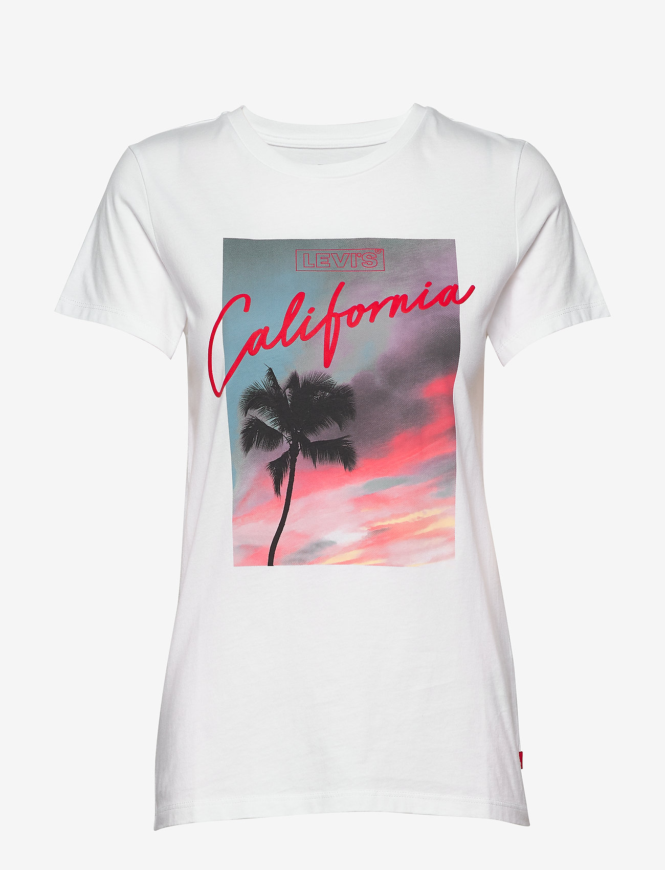 LEVI´S Women - THE PERFECT TEE PINK CALIFORNI - t-shirts - neutrals - 0