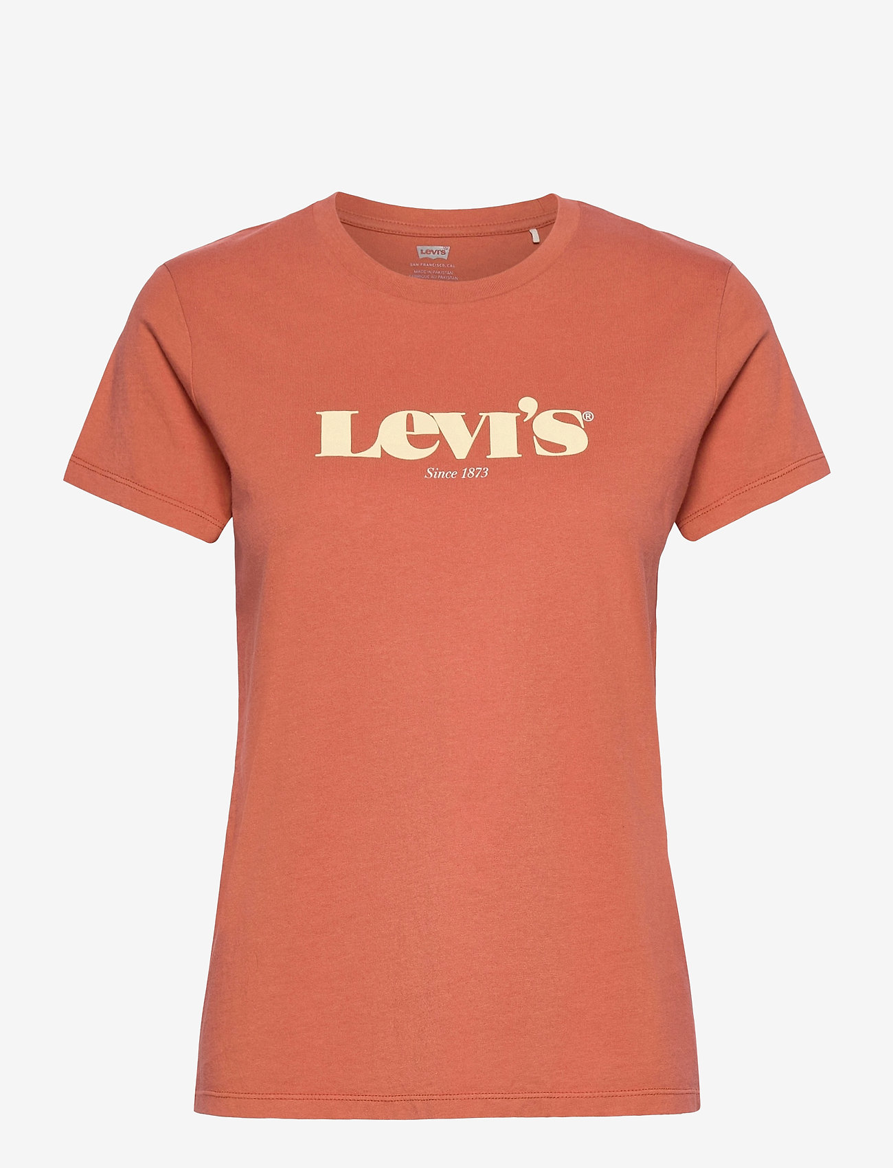 LEVI´S Women - THE PERFECT TEE NEW LOGO ARAGO - strikkede toppe - reds - 0